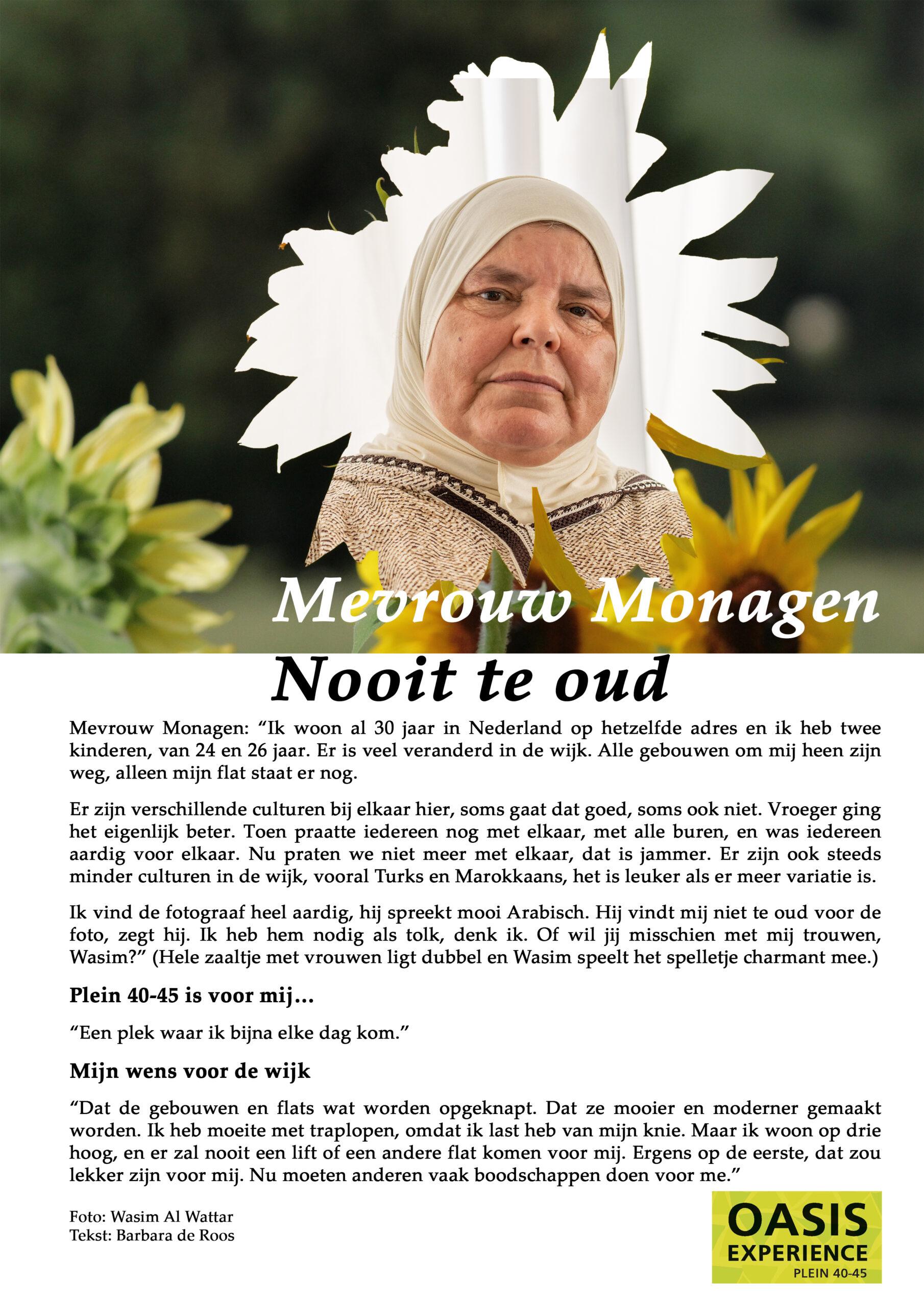 Flory #6 🌿 Mevrouw Monagem, Nooit te oud