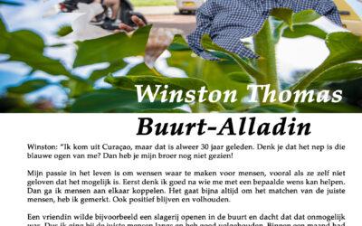 Flory #7 🌹Winston Thomas, Buurt-Alladin