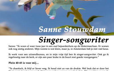 Flory #8 🌼 Sanne Stouwdam, Singer-songwriter