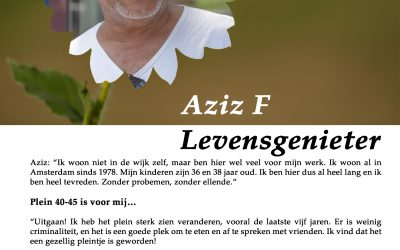 Flory #10 🦋 Aziz, levensgenieter