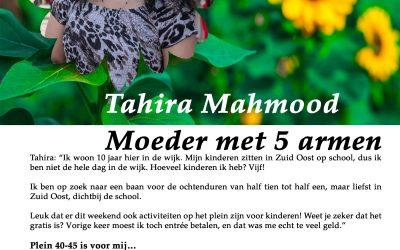 Flory #11 🌹 Tahira Mahmood, Moeder met 5 armen